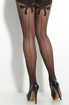Wolford 'Secret Bow' Pantyhose | Nordstrom