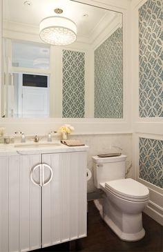 Inspirational Powder Room Mirror Ideas