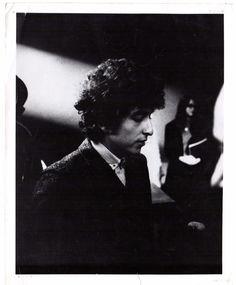 Bob Dylan Photograph 1966 Authentic Stamped: Eric Weill S.F., CA Zodiac Killer