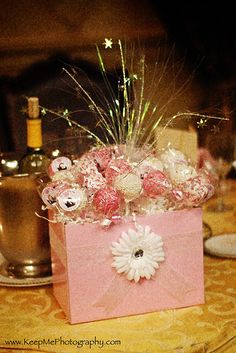 Cake Pop Bouquet Centerpieces | Flickr - Photo Sharing!