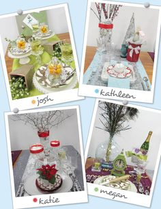 You Be the Judge: Holiday Placesetting Contest    http://valerie.store.willowhouse.com/