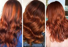 Red Hair Shades & Color Ideas: Medium Auburn Hair Color - Hairstyles For All Strawberry Red Hair, Cherry Red Hair, Dyed Tips, Hair Dye Tips, Red Blonde Hair, Dyed Red Hair, Light Red Hair, Hair Color For Black Hair, Alburn Hair