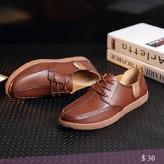 US $30 Luxury Brand Dress Men Shoes Casual Shoes Mens Loafers Driving Shoes Moccasins Urban Style Swag lace Up