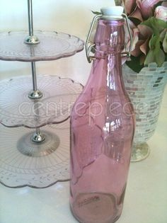 Water Bottle Pink Centerpieces, Water Bottle, Pink, Wedding, Home Decor, Valentines Day Weddings, Decoration Home, Room Decor, Center Pieces