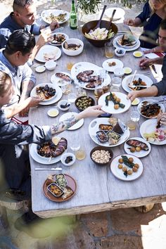 How to Host a Spanish Tapas Party | It only took a day of watching Aatxe chef Ryan Pollnow pull together an over-the-top spread for us to understand what goes into eating, entertaining and drinking like the Spanish. Here are a few takeaways that we learned from our day of hard work.