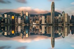 Sunrise@Victoria Harbour by Cai Wu on 500px