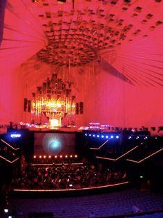 inside of the Sydney Opera House