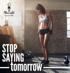 Po prostu działaj! #sport #motivation #fit #body #perfect #shape #be #active #fit #woman #gym #crossfit #maczfit Crossfit, Bikinis, Swimwear, Sport, Sayings, Body, Fitness, Pants, Fashion