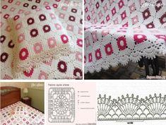Manta y funda de cojín de ganchillo molde Manta Crochet, Beautiful Butterflies, Bunny Rabbit, Big And Beautiful, Crochet Bebe, Butterfly, Quilts, Blanket, Ideas Creativas
