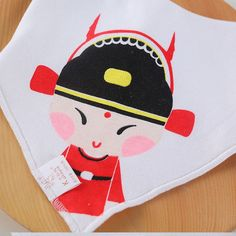 Baby Bibs Pure Cotton Cute Character Print Babero Bandana Towel Bib Newborn Dribble Bibs Waterproof Infant Feeding Accessories