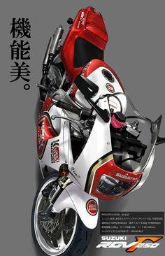 (25) Tumblr Suzuki Motorcycle, Moto Bike, Motorcycle Style, Bike Poster, Japanese Motorcycle, Suzuki Gsx, Super Bikes, Vintage Bikes, Custom Motorcycles