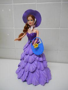 Boneca tipo Barbie em E.V.A ( unitário)
