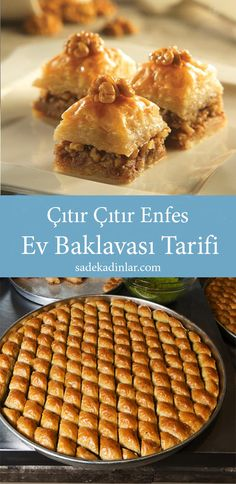 Baklava Recipe, Sweets Recipes, Desserts, Turkish Sweets, Bulgarian Recipes, Fruit Smoothies, Coffee Break, Cooking Time, Good Food