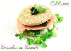Sándwich Thins de Salmón.
