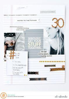 Ali Edwards | Blog: AE Digital Creative Team | Stuff Digital Story Kit™