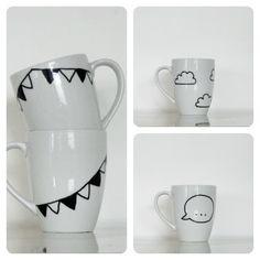 Le jardin de Juliette: DIY mugs