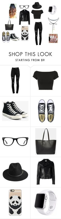 """random style"" by elliemcrobbie on Polyvore featuring Yves Saint Laurent, Helmut Lang, Converse, Muse, BeckSöndergaard, Casetify and Apple"
