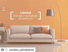 #Repost @wonders_admdeobras (@get_repost)  Alterar a cor de uma parede muda totalmente o ambiente. Cores fortes dão energia para o cômodo e o laranja além de chamar atenção estimula a criatividade sem perder o aconchego do ambiente. Conheça a Wonders: www.wondersadm.com #wonders #wondersadm #wondersobras #arquiteto #arquitetura #engenharia #obras #apartamentos #casas #escritorios #loft #studio #decoracao #ambientes #organizacao #limpeza #agilidade #qualidade #entreganoprazo #construcao…