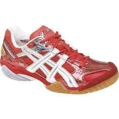 Asics Gel Domain Womens Size 10.5 B0031Y6HRC Diva Red Pepper Volleyball b735f0bba2782