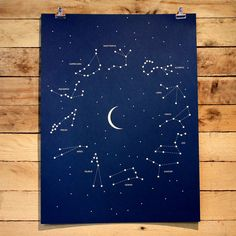 Constellation Poster by Andrew Martis - HOLSTEE // $36.00