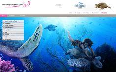 Nuestros webdesigners vuelven a mostar su maestría en los decorados acuáticos en el Snorkelus Camp  #venteprivee #VPSummerCamp #webdesign