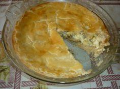Torta de Alho Poró com Ricota - Veja como fazer em: http://cybercook.com.br/receita-de-torta-de-alho-poro-com-ricota-r-13-77596.html?pinterest-rec