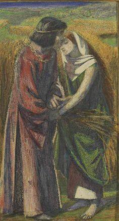 Ruth and Boaz Dante Gabriel Rossetti