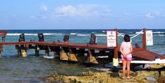 https://flic.kr/p/Tm7ynW | End of the road | Beach trail ends at south wall of the reef in Half Moon Bay, a snorkeling spot on the Riviera Maya [Quintana Roo, Mexico].