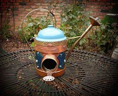 Amazing+Birdhouses | ... amazing birdhouses out of scrap metal and beautiful but discarded