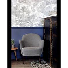 Hôtel Paradis - Fornasetti's wallpaper Nuvole by Cole & Son Cole & Son Nuvolette Fornasetti clouds wallpaper
