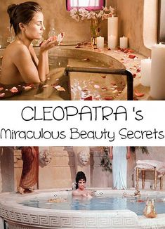 Today we are gonna find out Cleopatra's beauty secrets. Undoubtedly, Queen Cleopatra was a beauty ideal for the ancient world. Find out Cleopatra's secrets #NaturalSkinCare #BeautySecretsForSkin #CleopatraBeautySecrets #BeautyHacksLips Beauty Hacks Lips, Beauty Hacks Skincare, Beauty Habits, Beauty Tips For Skin, Natural Beauty Tips, Best Beauty Tips, Health And Beauty Tips, Diy Beauty, Beauty Skin