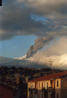Etna: eruzione 2002 (Catania), via Flickr.
