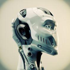 Cabeça Robotic