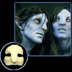 Avatar Navi prosthetic mask $33