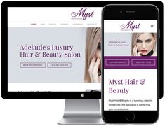 Adelaide's Luxury Hair & Beauty Salon Hair And Beauty Salon, Beauty Book, Digital Strategy, Luxury Hair, Wedding Makeup, Internet Marketing, Eyebrows, Salons, Hair Cuts
