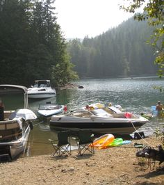 Chilling at the Cove, Lake Cushman
