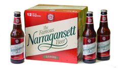 Narragansett Beer, must be time for a trip home to RI, I'm feeling nostalgic for all my home town products.