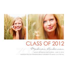 graduation announcement