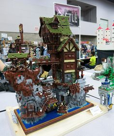 The Lego Pirate Rock | Bricks Cascade 2014 | Flickr - Photo Sharing!