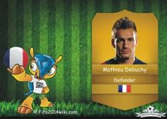 Mathieu Debuchy - France Player - FIFA 2014 Argentina Players, Brazil Players, Germany Players, Messi Argentina, Sven Bender, Lars Bender, Cristiano Ronaldo Profile, Lionel Messi, Eduardo Vargas