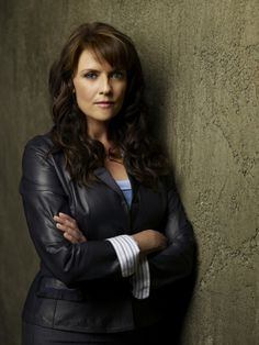 Whether she is playing Samantha Carter or Helen Magnus (shown) Amanda Tapping is awesome!!!