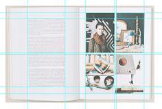 DESIGN PRACTICE. : KINFOLK; GRIDS AND LAYOUT DEVELOPMENT
