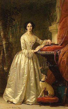 1849 Grand-Duchess Maria-Alexandrovna by Christina Robertson (Hermitage)