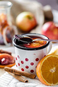 Balsamico-Kirsch-Apfel-Punsch/ balsamic cherry apple punch