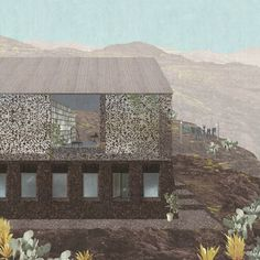 St Helena is engaged in a struggle for its own identity, no longer an imported style of the colonial past, but something that comes from the island itself. Our proposal envisions forming the house from the volcano which formed the island,...