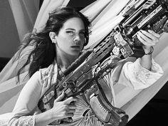 Lana Del Rey being a badass b*tch in 'High By The Beach'