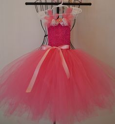 Your place to buy and sell all things handmade Princess Birthday, Princess Party, Diy Baby Costumes, Princess Aurora Dress, Lace Ruffle, Pink Satin, Tutu, Crochet Top, Cinderella