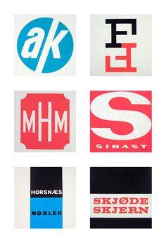 Scandinavian logos from the 1960s & 70s