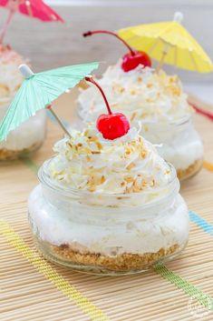 Tropical Pina Colada Pie