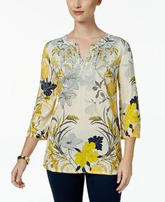 Button Up Shirts Womens Tops - Macy's